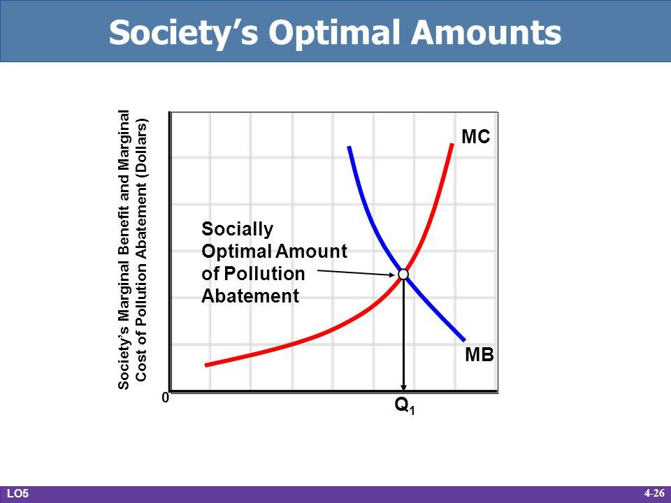 Society's Optimal Amounts
