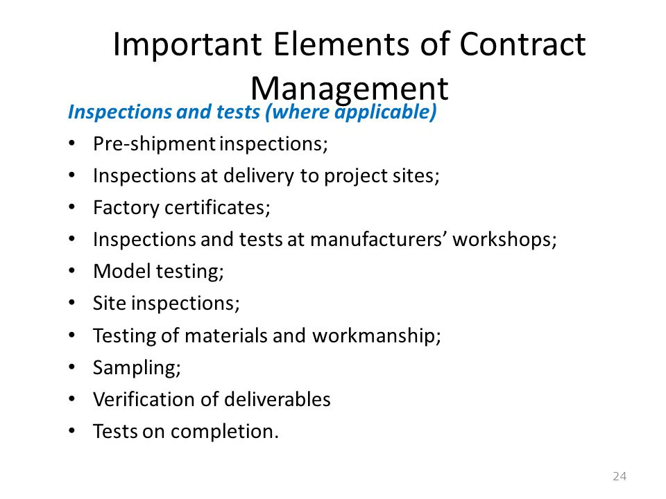Management Of Supply Of Goods Contract - Ppt Download