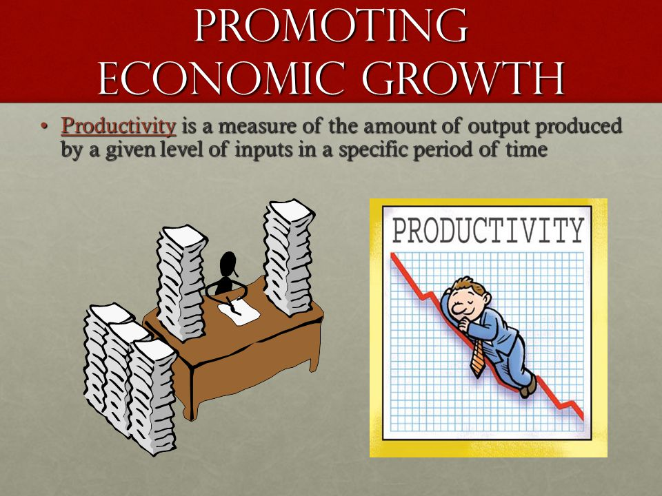 Promoting Economic Growth