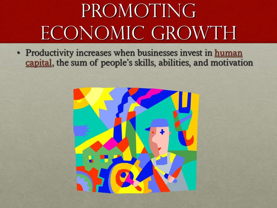 Promoting Economic Growth