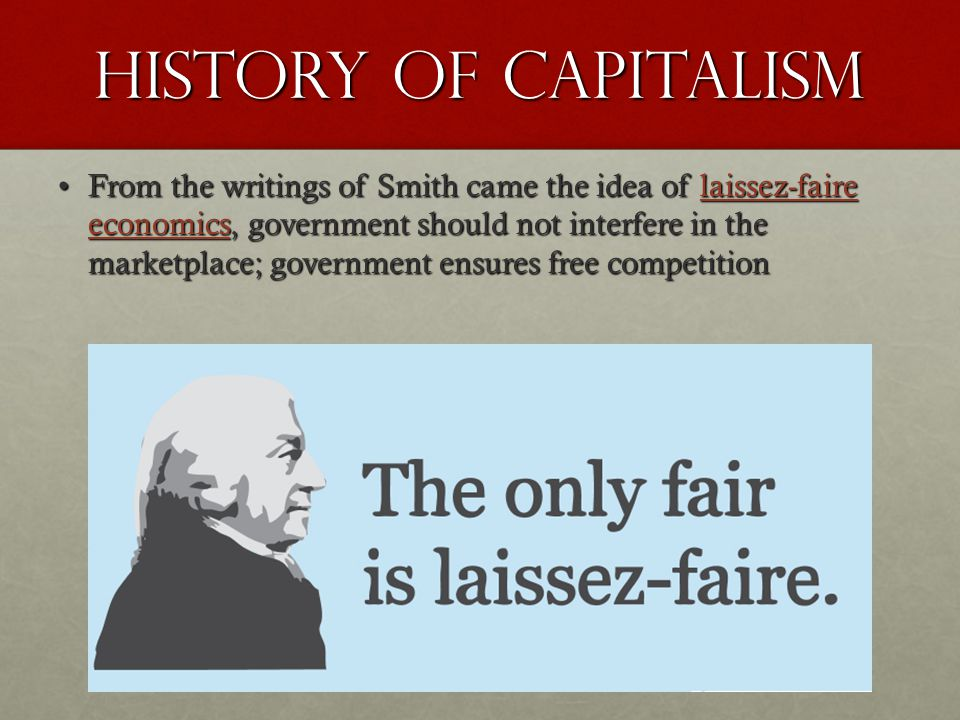 History of Capitalism