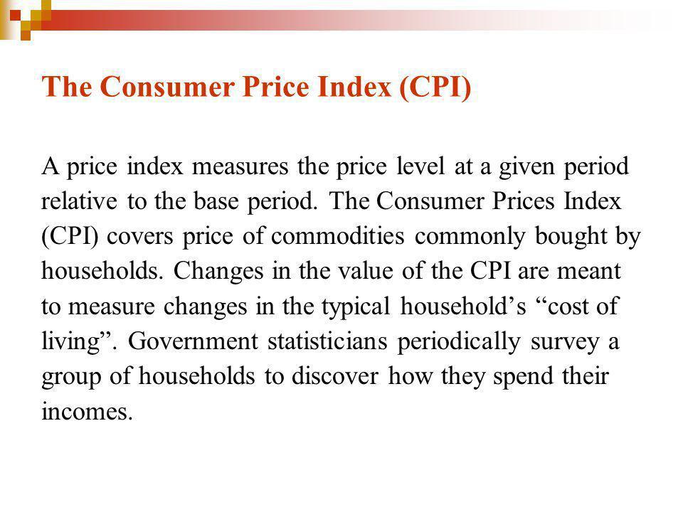 The Consumer Price Index (CPI)