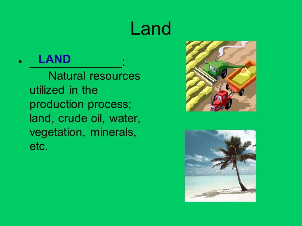 Land LAND.