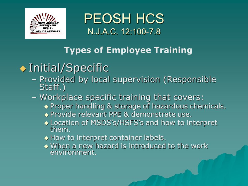 Types of Employee Training