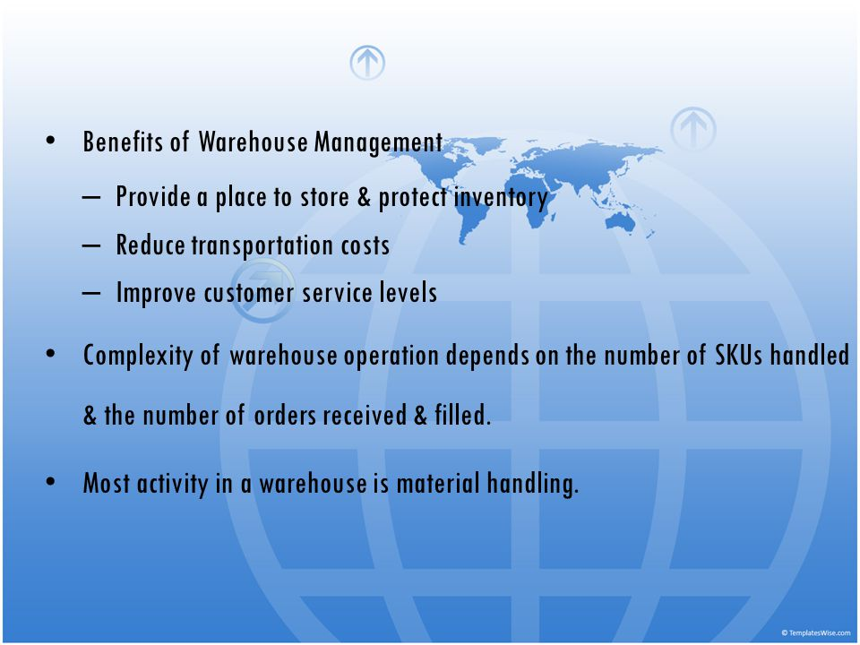 Benefits of Warehouse Management