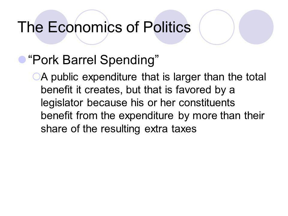 The Economics of Politics