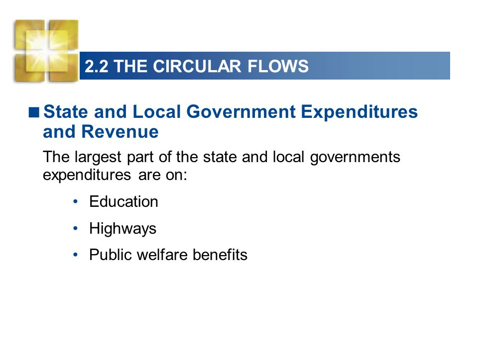 State and Local Government Expenditures and Revenue