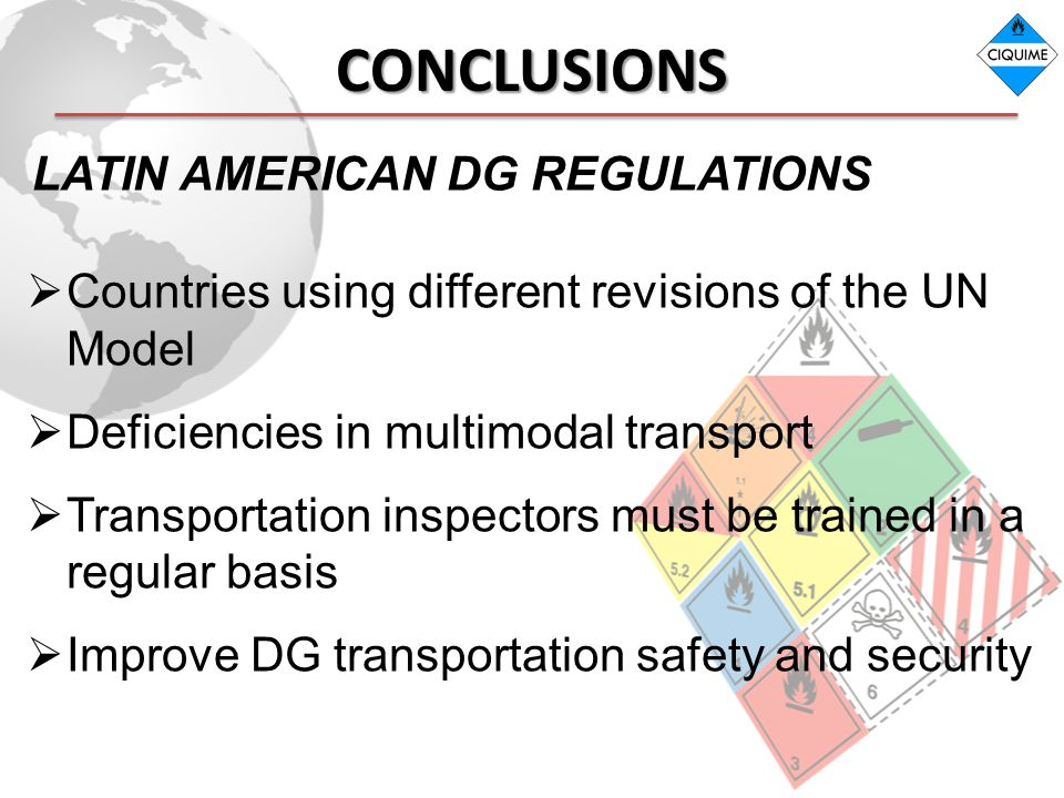 CONCLUSIONS LATIN AMERICAN DG REGULATIONS