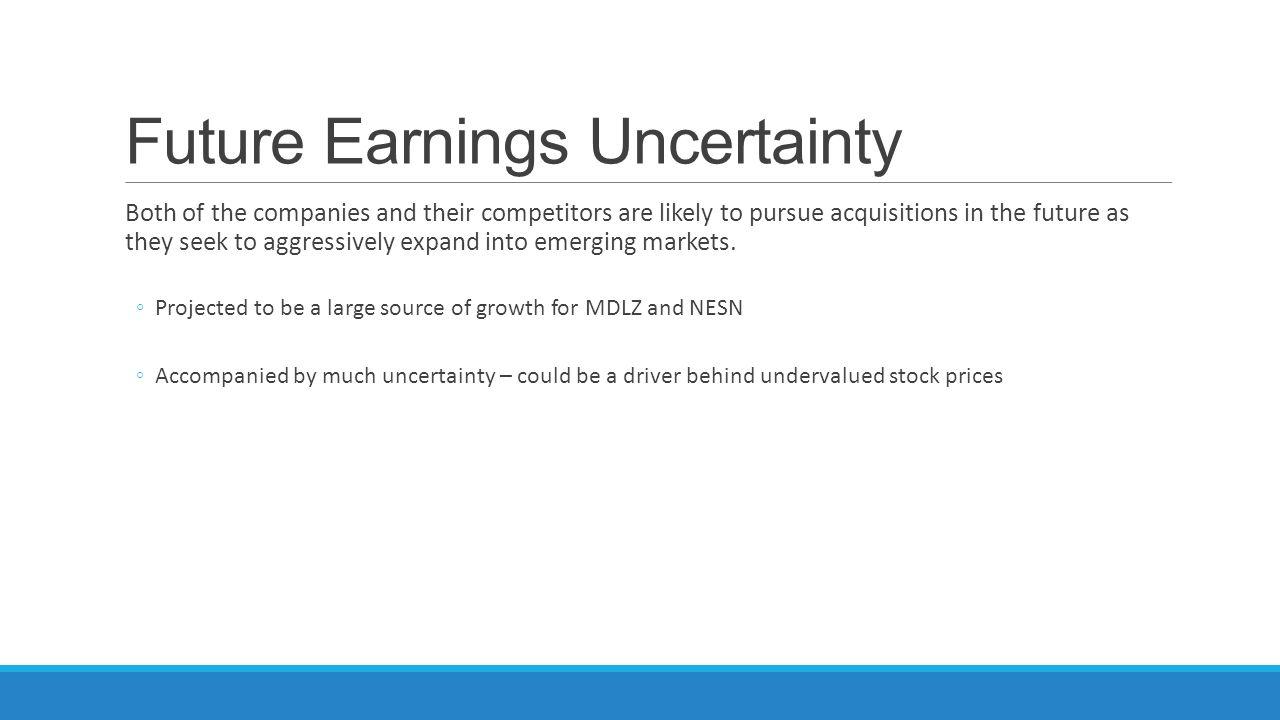 Future Earnings Uncertainty