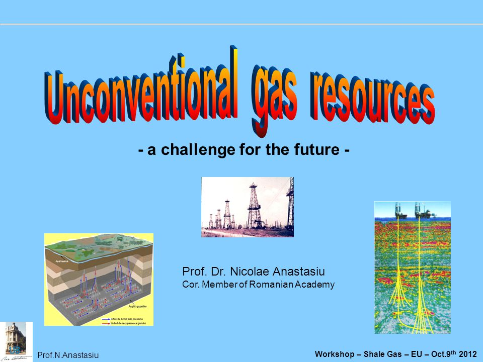 Unconventional gas resources