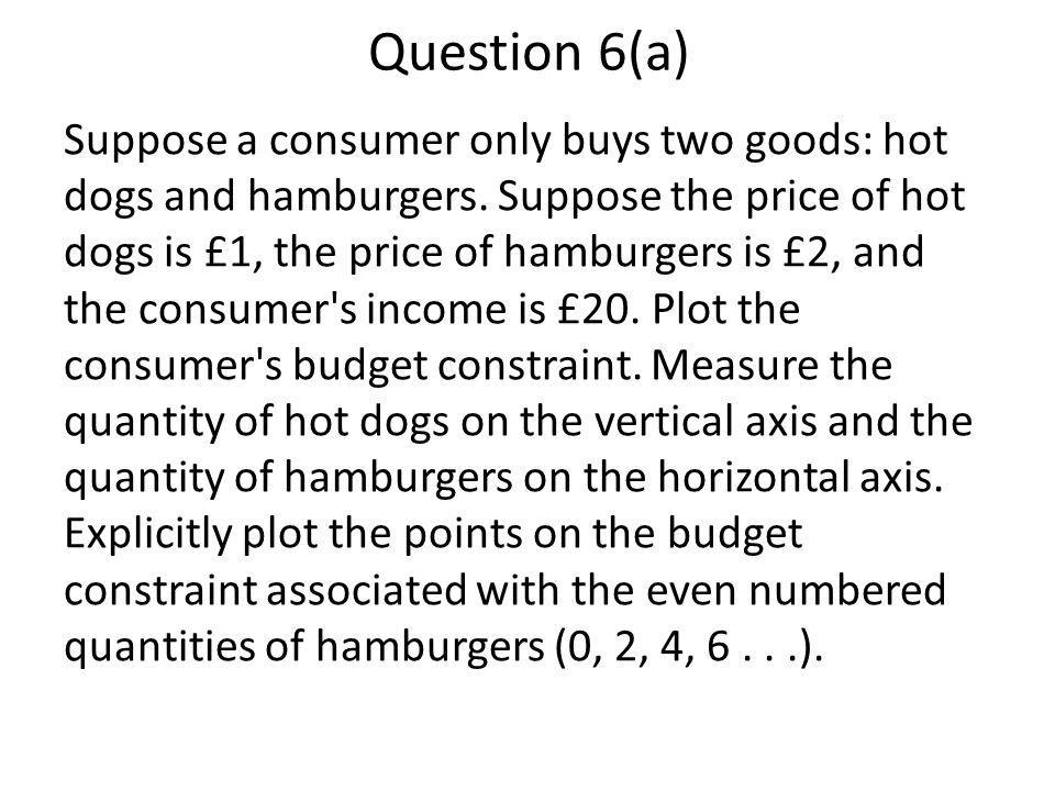 Question 6(a)