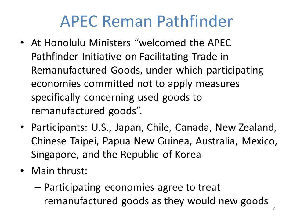 APEC Reman Pathfinder