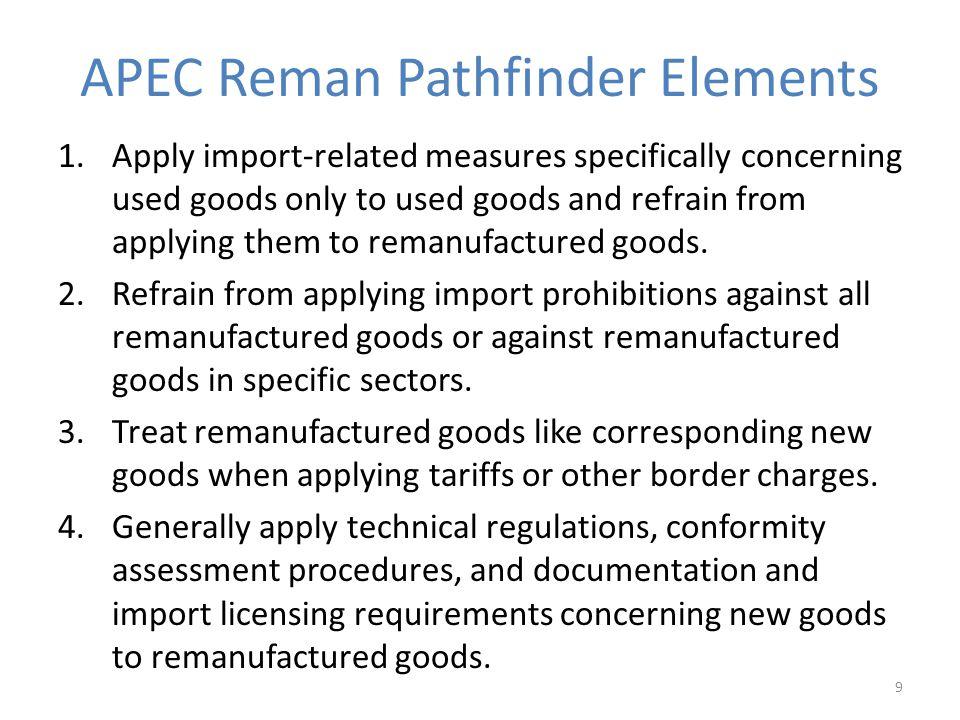 APEC Reman Pathfinder Elements