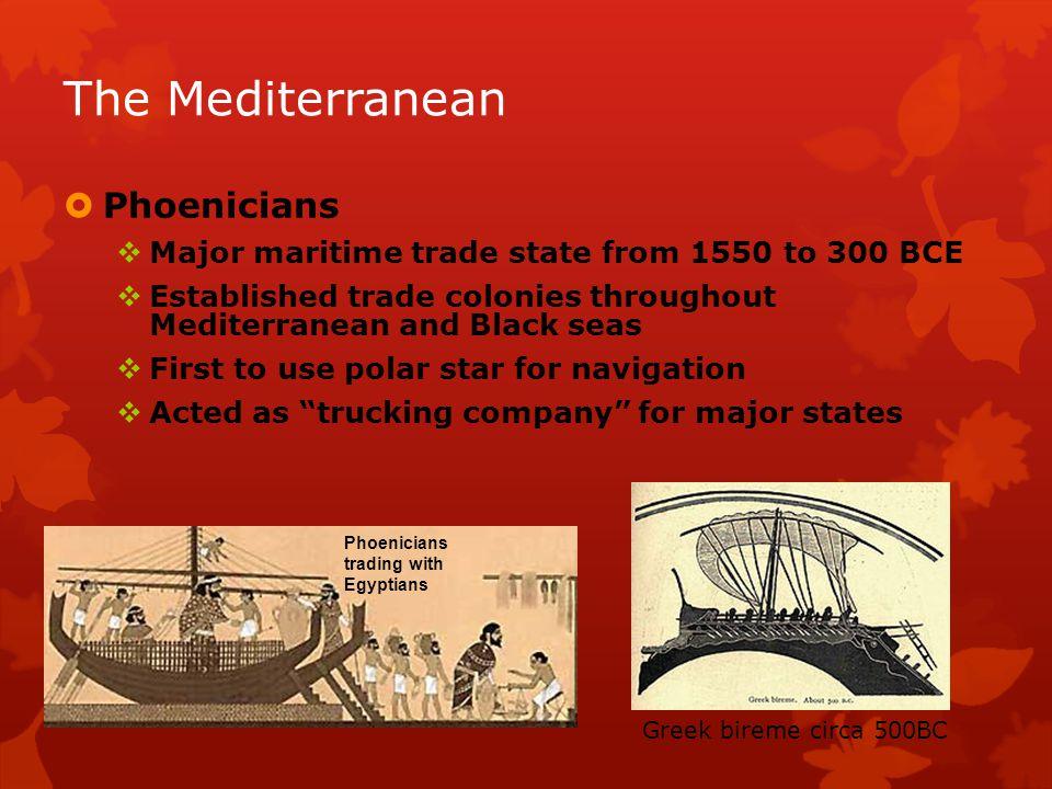 The Mediterranean Phoenicians