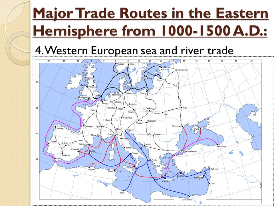 a history of the long distance trade between china europe and the middle east This time period witnessed tremendous growth in long-distance trade through the silk road, the indian ocean, trans-saharan trade patterns and effects of interactions: trade, war, diplomacy, and feudal europe tang and song china mongols unit ii.