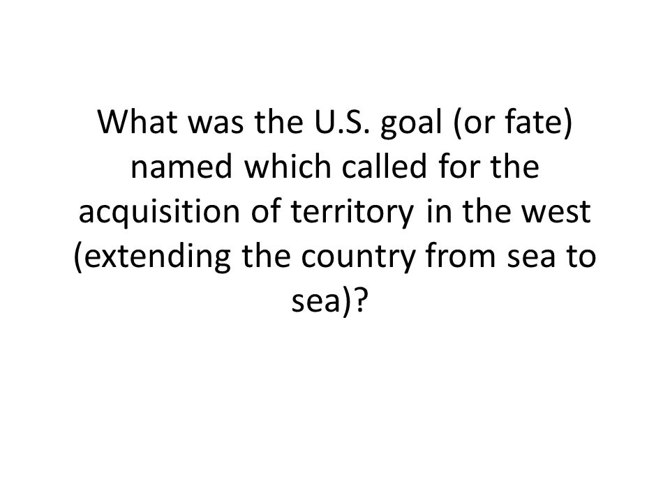 What was the U.S.
