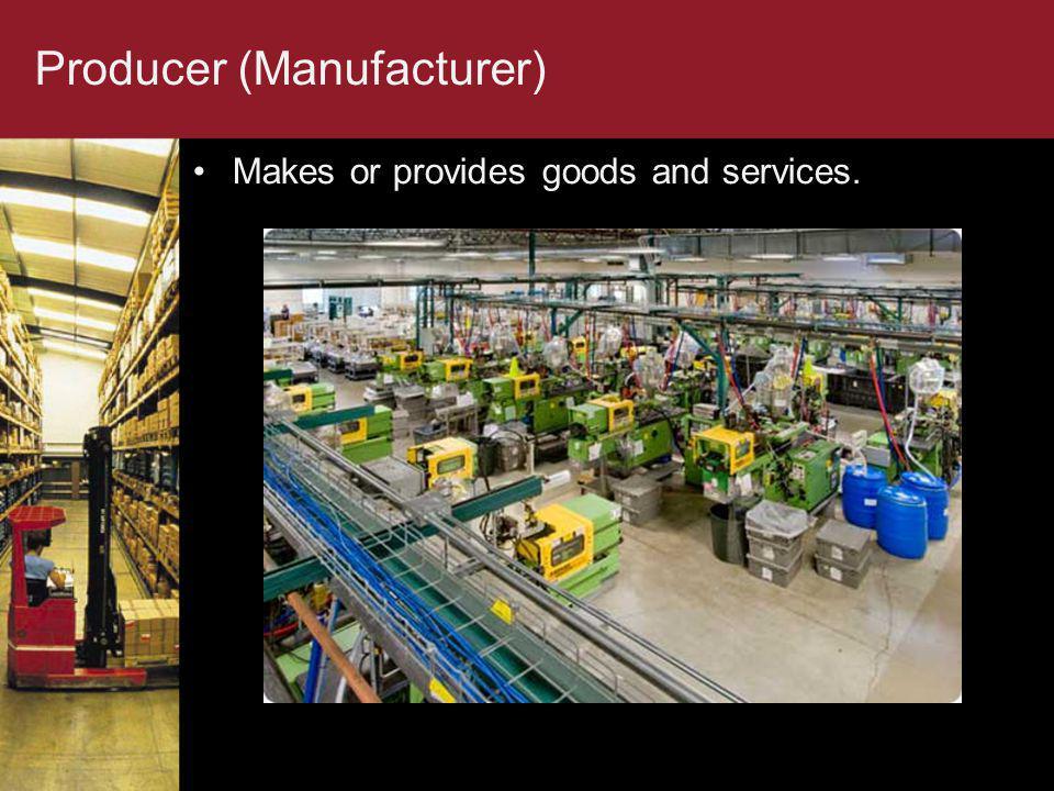 Producer (Manufacturer)