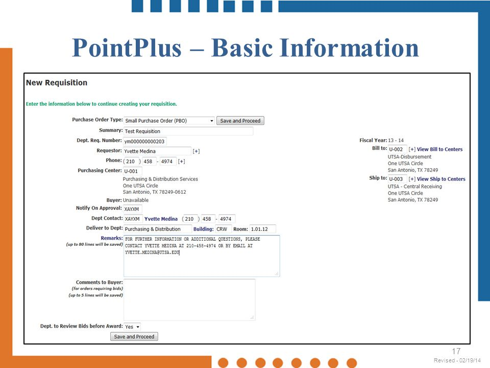 PointPlus – Basic Information