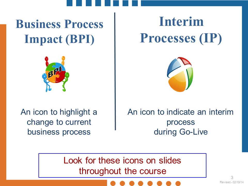 Business Process Impact (BPI)