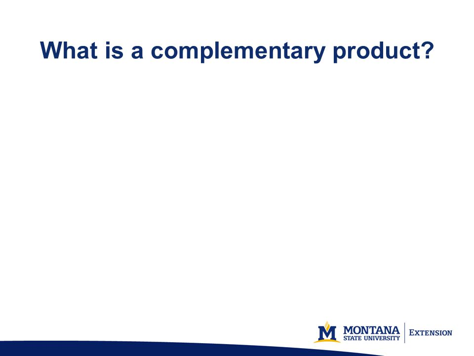 What is a complementary product