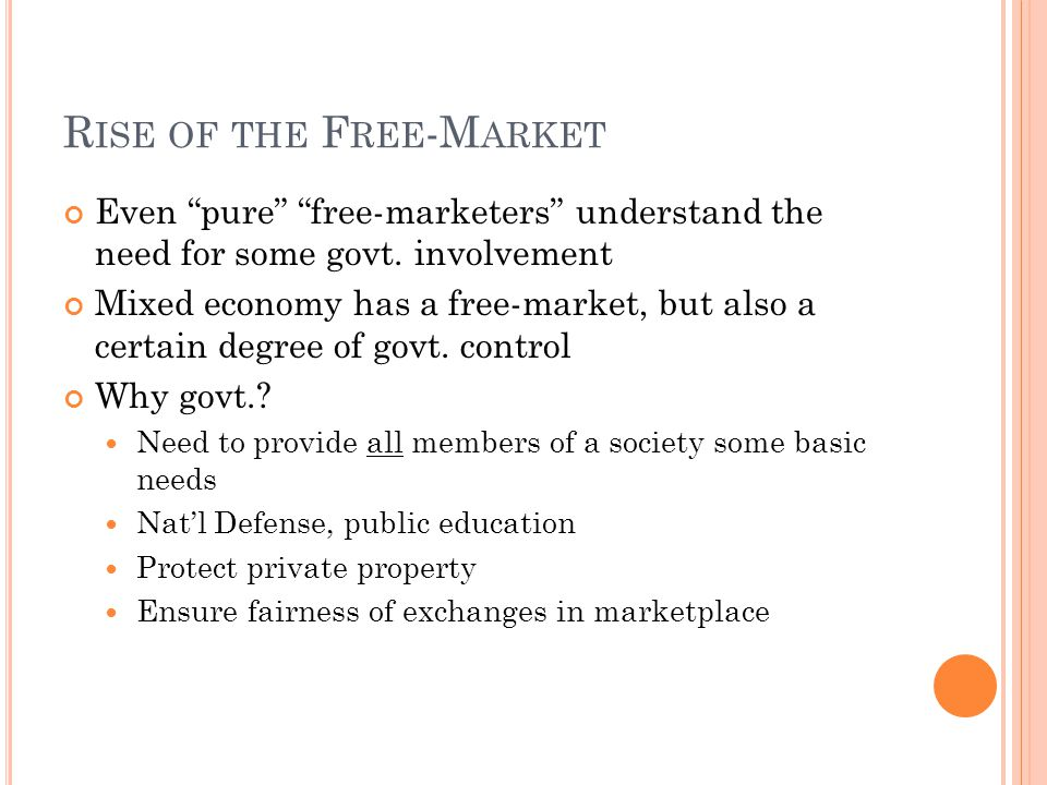 Rise of the Free-Market
