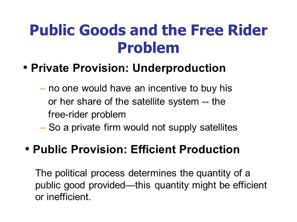 Common Resources Like public goods, common resources are not excludable. cannot prevent free riders from using.