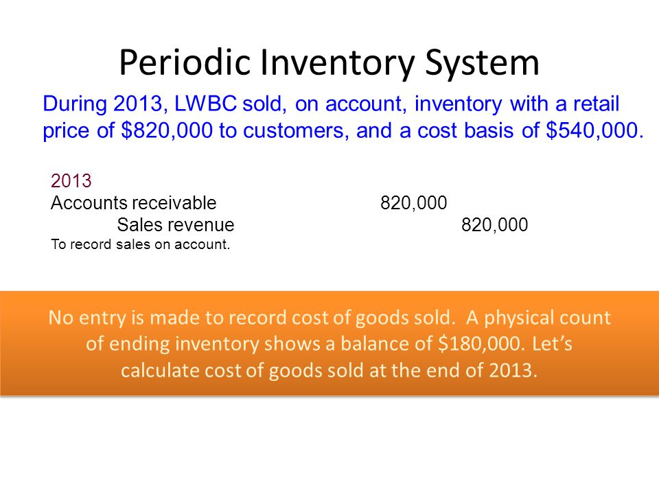 Inventory Measurement Ppt Download
