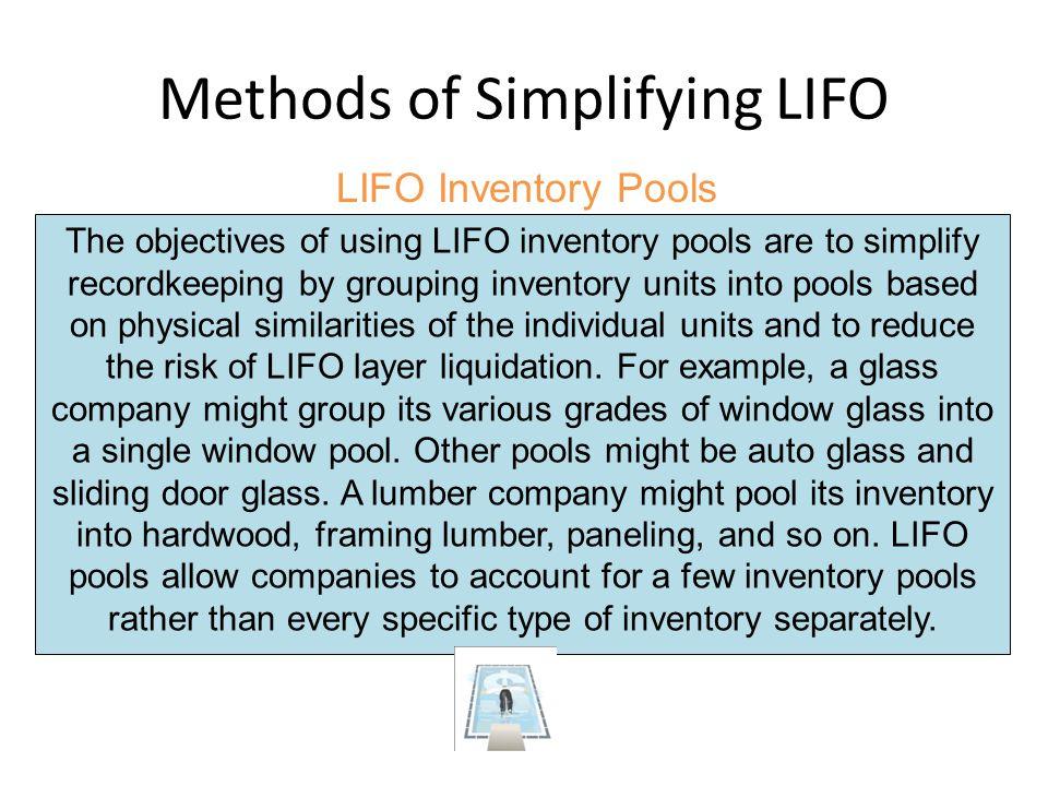 Methods of Simplifying LIFO