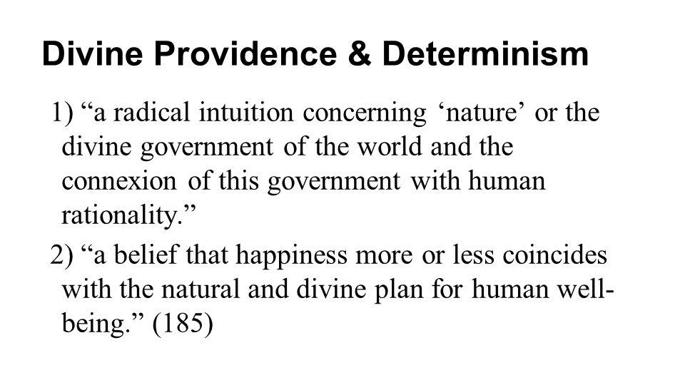 Divine Providence & Determinism