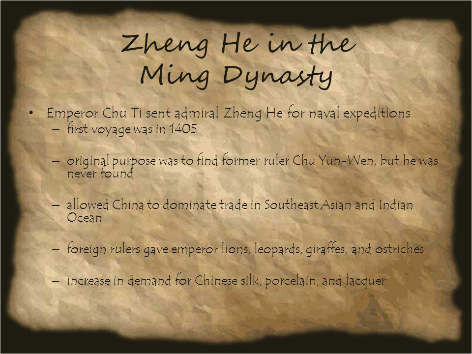 Zheng He in the Ming Dynasty