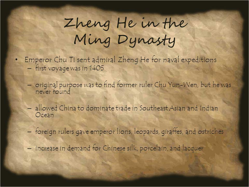 Zheng He in the Ming Dynasty