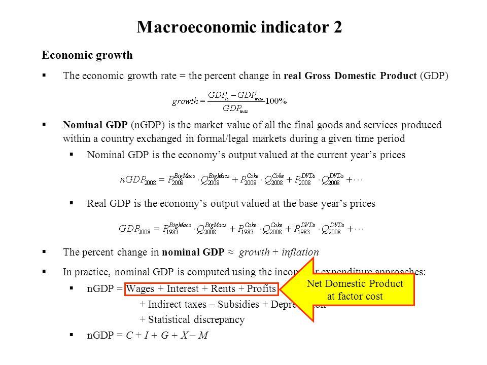 Macroeconomic indicator 2