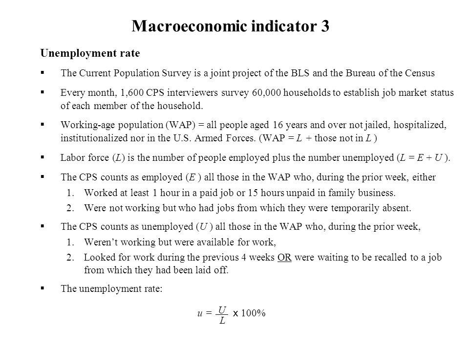 Macroeconomic indicator 3