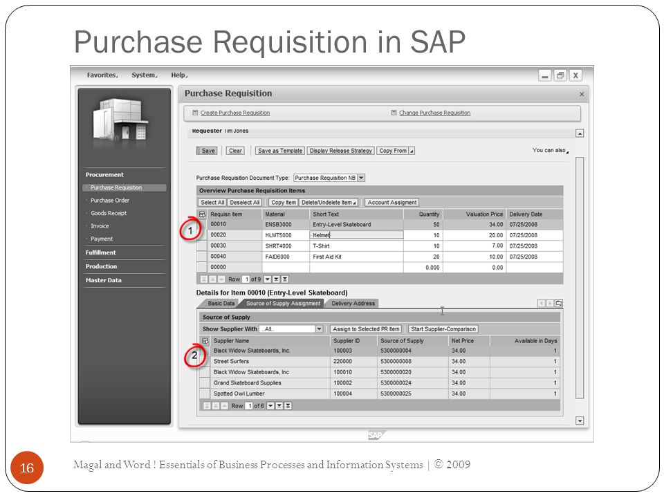 Purchase Requisition in SAP