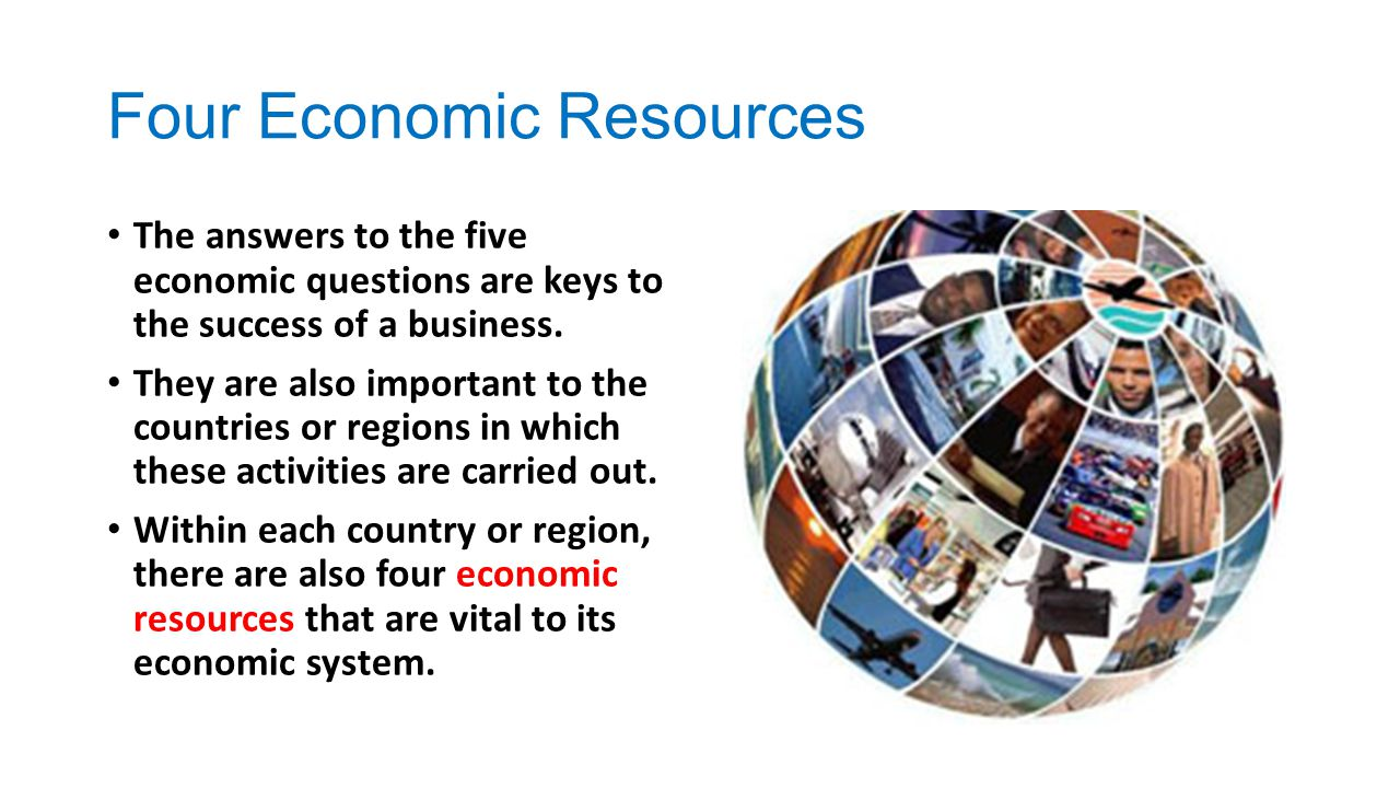 Four Economic Resources