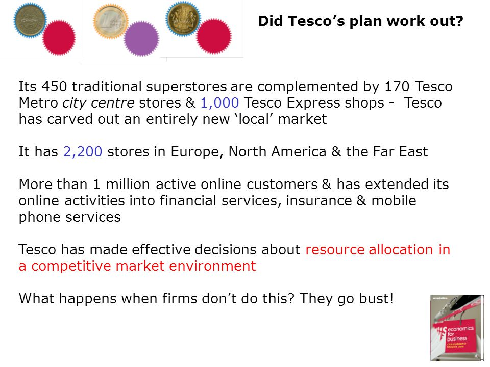 Did Tesco's plan work out