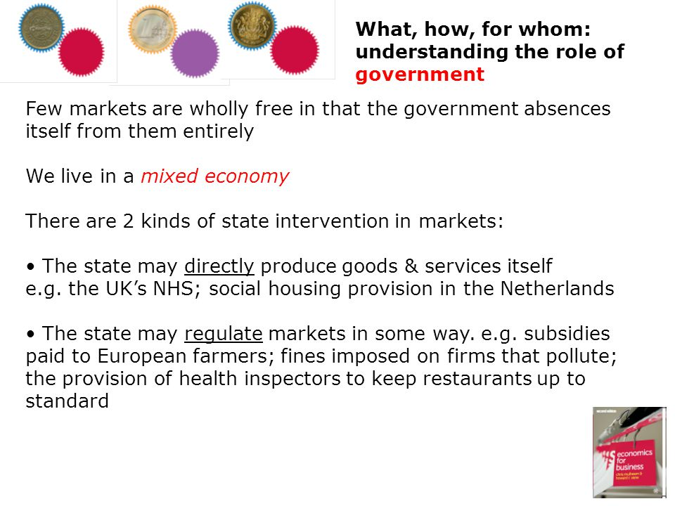 What, how, for whom: understanding the role of government