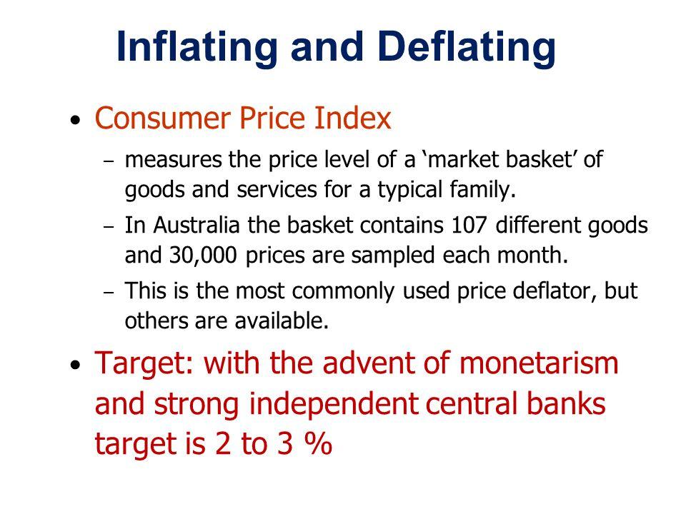 Inflating and Deflating
