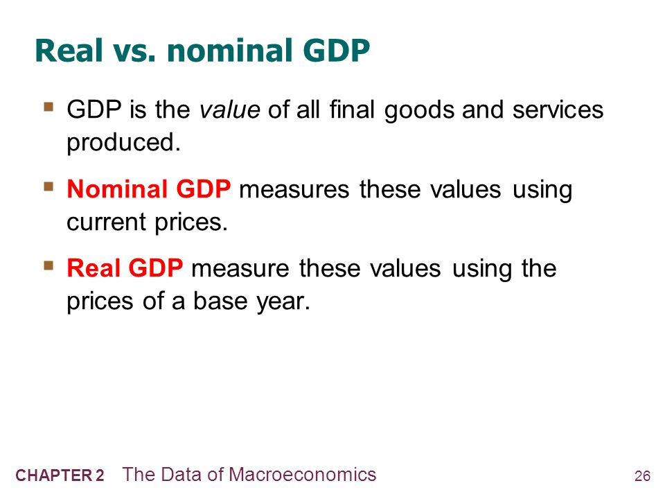 NOW YOU TRY Real and Nominal GDP