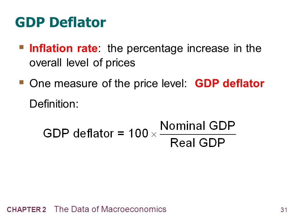 NOW YOU TRY GDP deflator and inflation rate