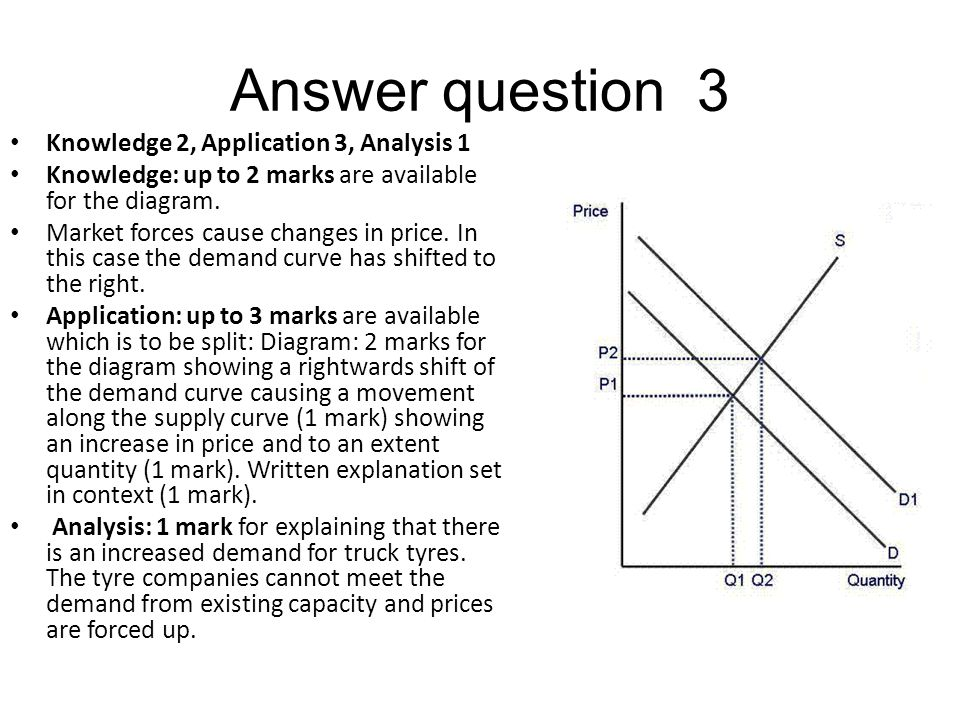 Answer question 3 Knowledge 2, Application 3, Analysis 1