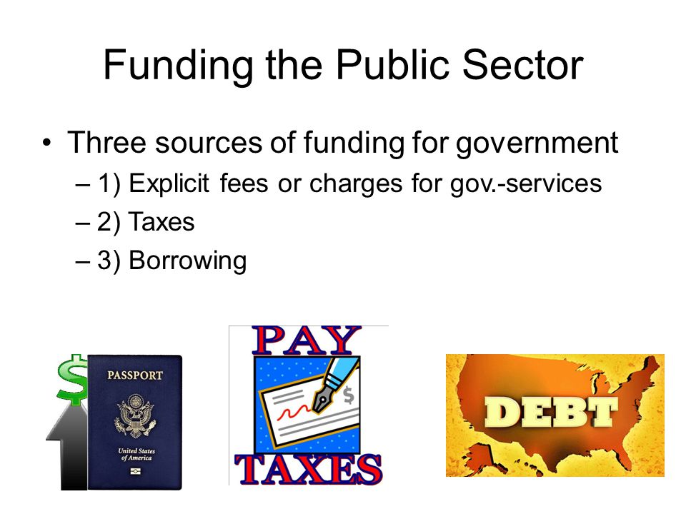 Funding the Public Sector
