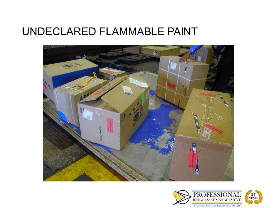 undeclared air shipment of dangerous goods This system ensures governmental control over the carriage of dangerous goods by air dangerous goods shipments undeclared dangerous goods.