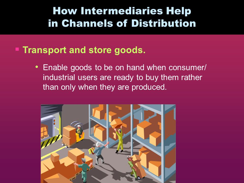 How Intermediaries Help in Channels of Distribution