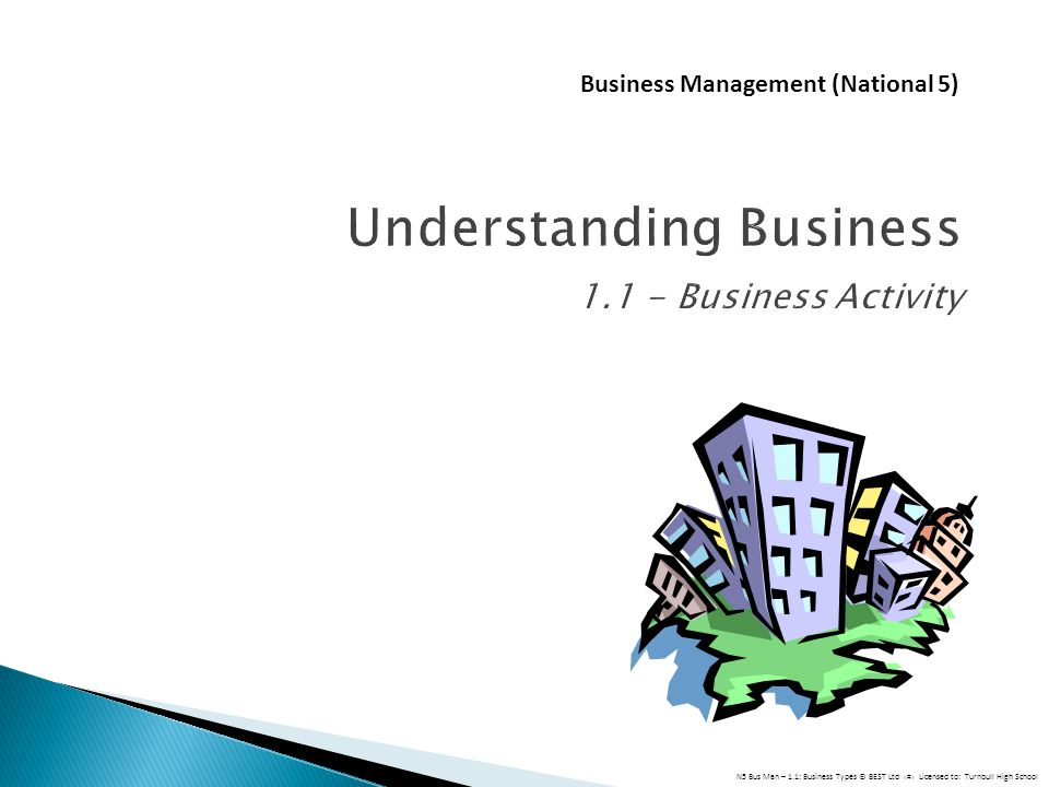 Understanding Business Business Activity