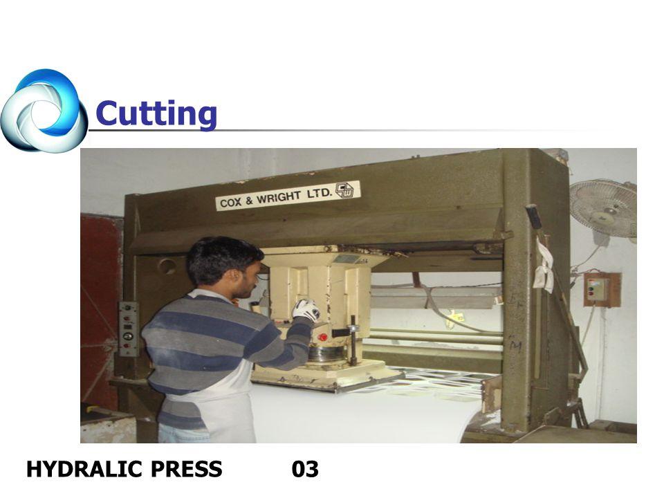 Cutting HYDRALIC PRESS 03