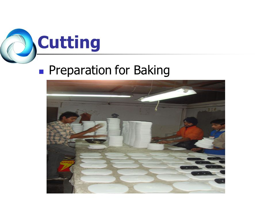 Cutting Preparation for Baking