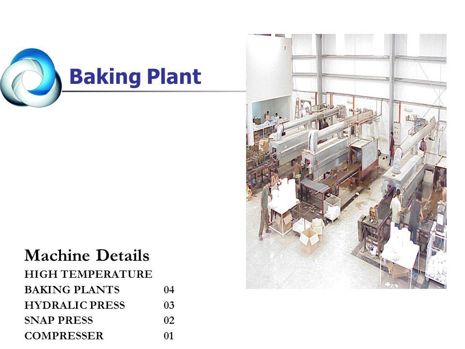 Baking Plant Machine Details HIGH TEMPERATURE BAKING PLANTS 04