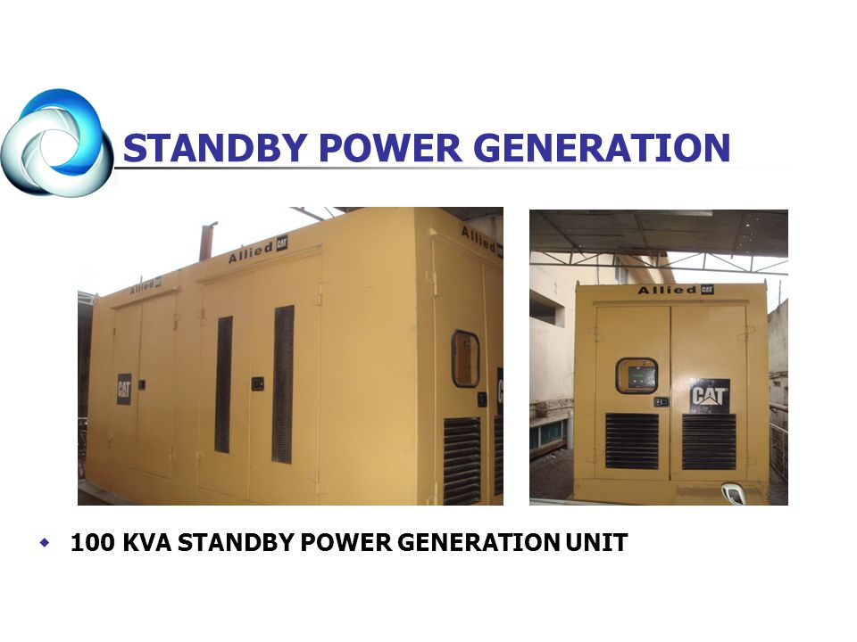 STANDBY POWER GENERATION