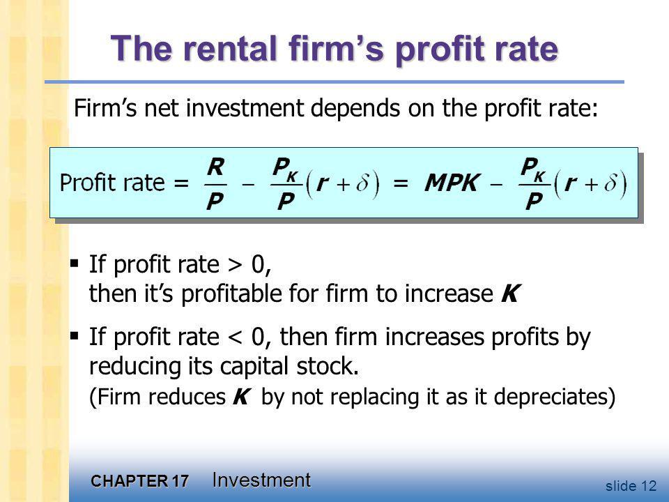 Net investment & gross investment